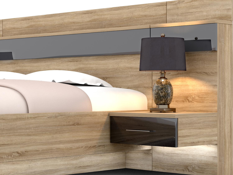 модерн кровать лючидо