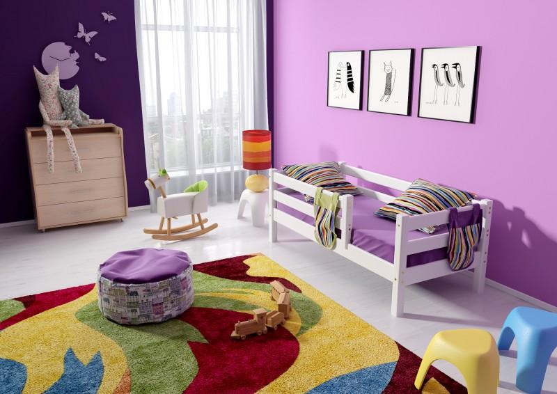 """Детская кровать """"Соня"""" 1600 п/прозрачный лак"""