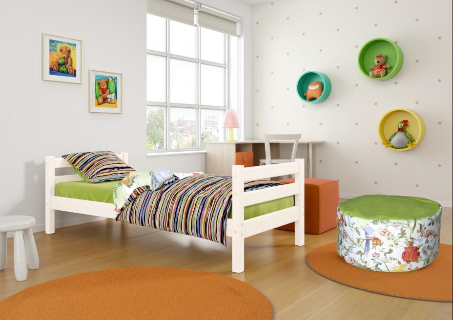 Вариант 1 кровать Соня п/прозрачный лак