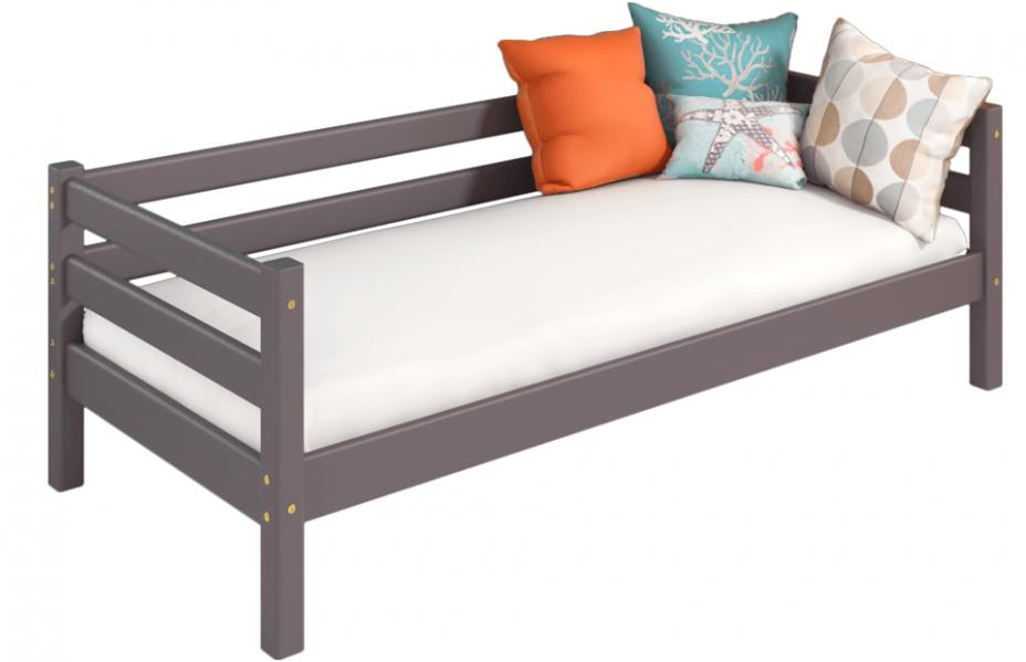 Вариант 2 Кровать Соня с задней защитой лаванда