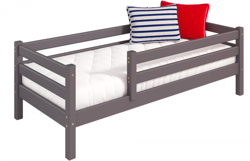 Вариант 3 кровать Соня с защитой по периметру лаванда