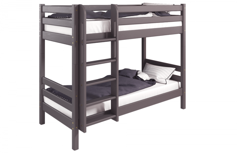 Кровать 2-х ярусная Соня с прямой лестницей , вариант 9 лаванда