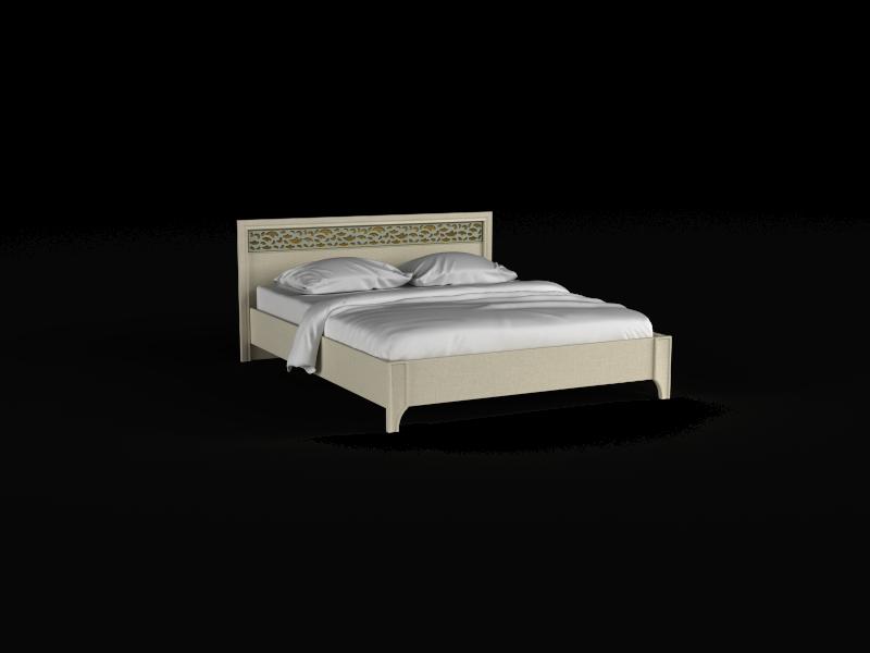 Кровать-04 без подъемного механизма Twist