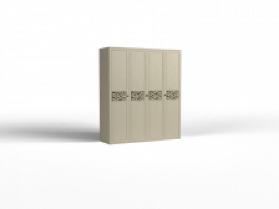 Шкаф  для одежды - 04  Твист фасад глухой