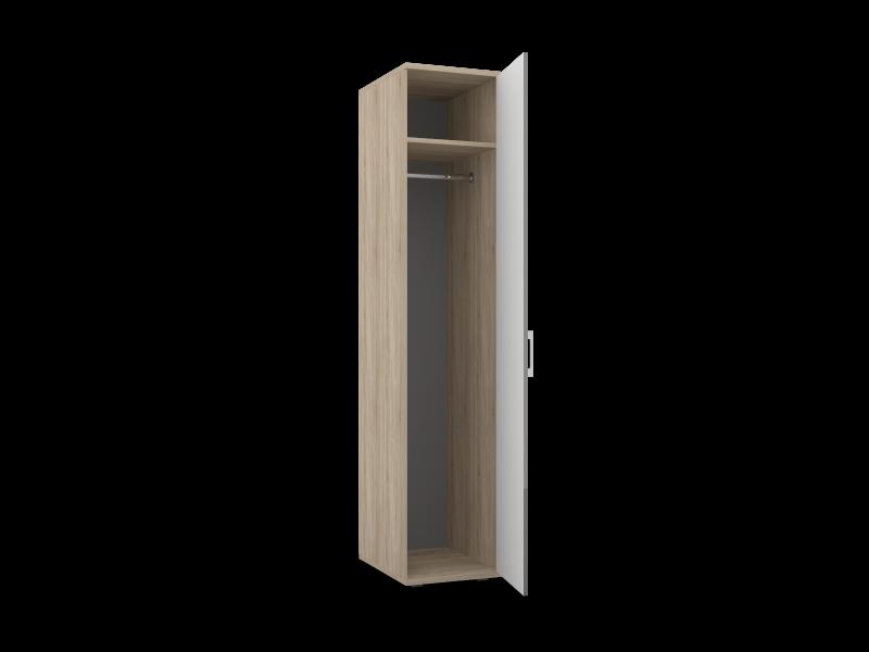 Шкаф для одежды-01 Lucido