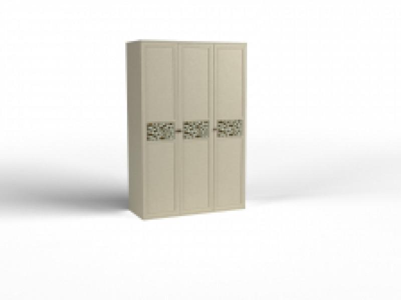 Шкаф 3 дв. Твист (3 глухих фасада)