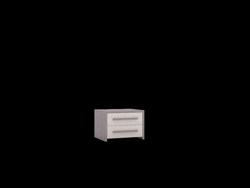 Тумба прикроватная  02/2  (NEW) с 2-мя ящиками ULLA
