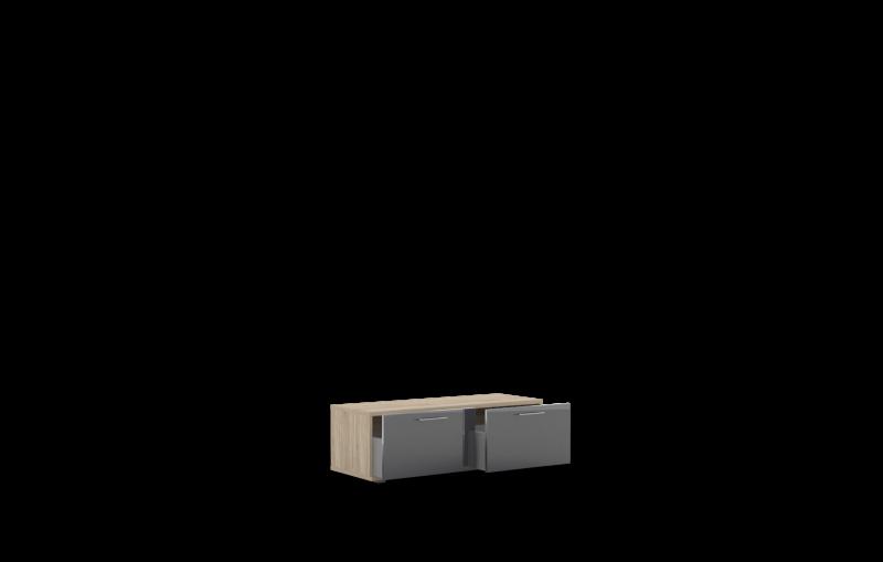 Тумба -01 (1200) с выкатными ящиками Лучидо