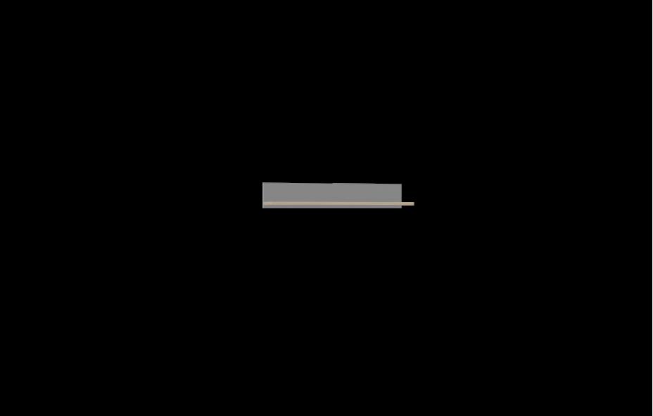 Полка  навесная -01 1200) Лучидо