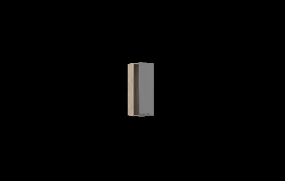 Шкаф вертикальный -01 правый Лучидо