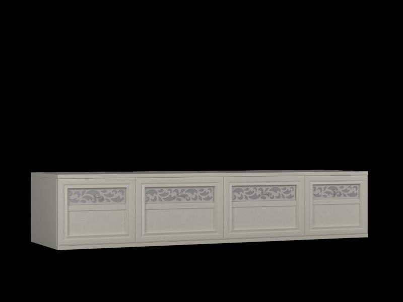 Тумба-02 для ТВ фасад глухой Твист