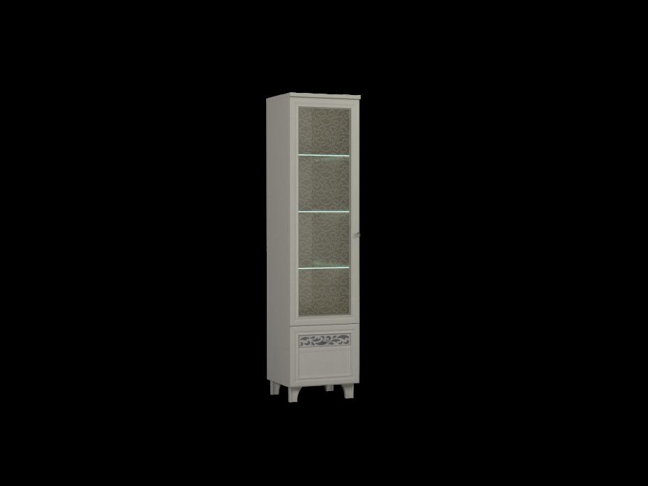 Шкаф комбинированный -03 фасад стекло
