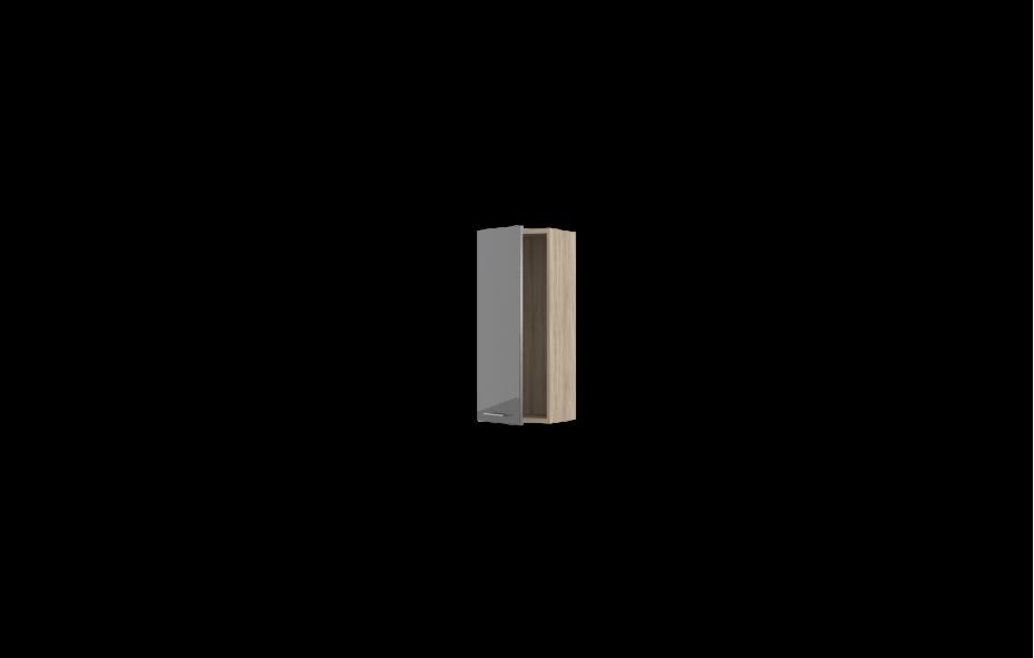 Шкаф вертикальный -01 левый Лучидо