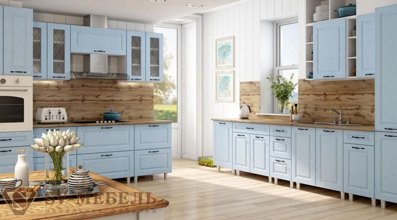 Грейвуд (фасад арктик голубой) SV Мебель купить в Калуге