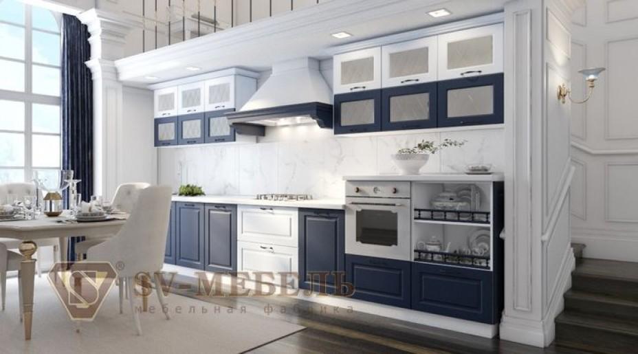 Грейвуд (фасад синий/арктик белый) SV Мебель купить в Калуге