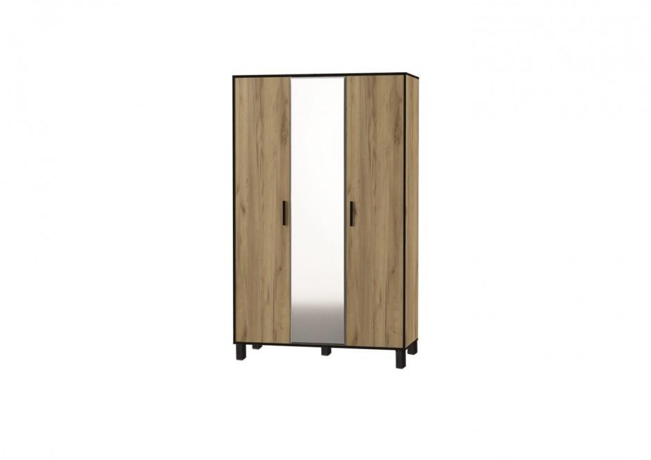 Спальня Лофт № 3 шкаф 3-х створчатый
