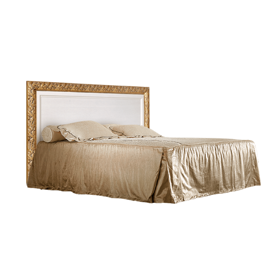 Кровать 2-х спальная (1,4 м) c подъемным механизмом Тиффани (Штрих-золото)