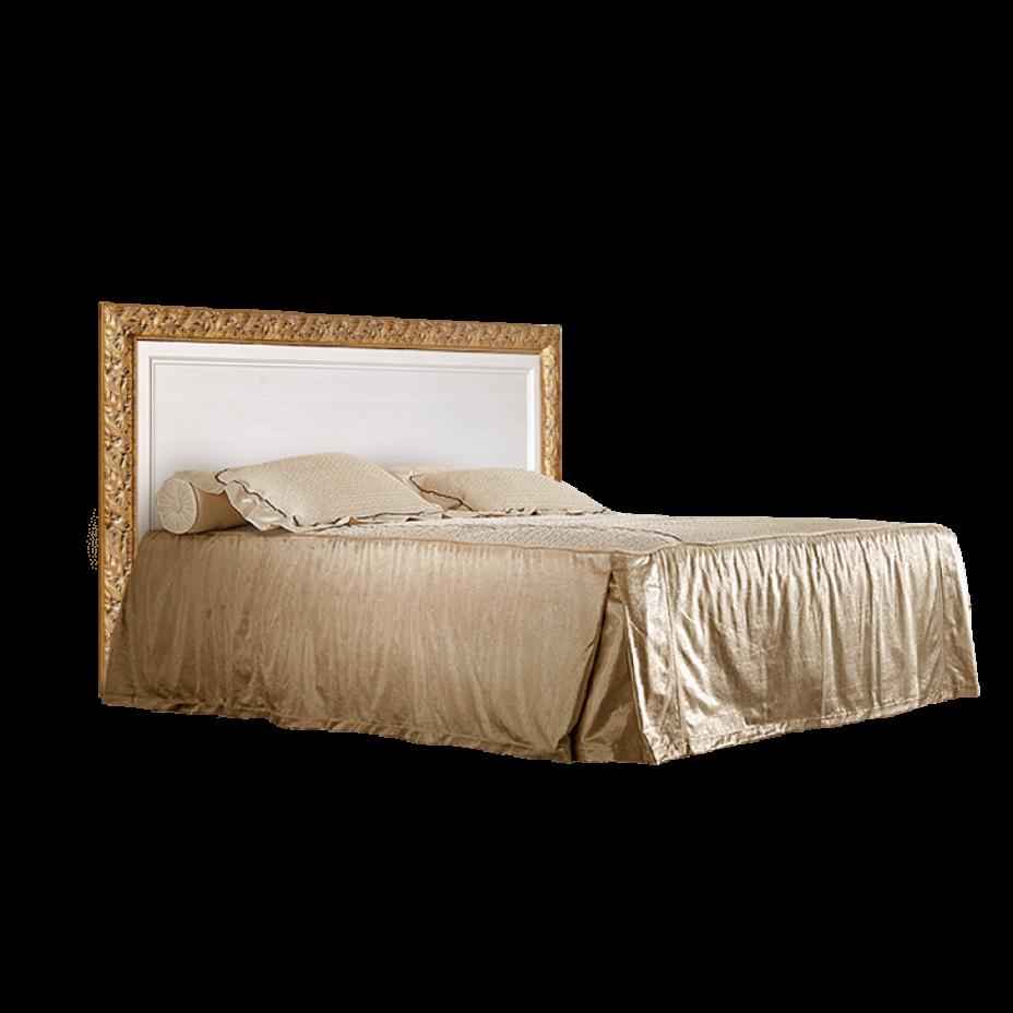 Кровать 2-х спальная (1,8 м) c подъемным механизмом Тиффани (Штрих-золото)