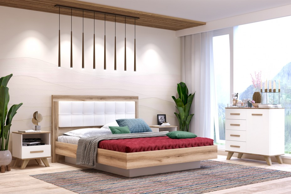 Спальня «Вега Скандинавия» (комплект 2)