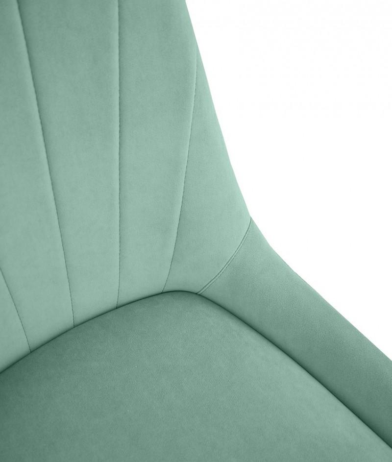 Марино люкс (ткань катания аквамарин / каркас черный муар)