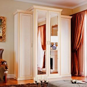 Венетто шкаф 4 дв. с пеналами